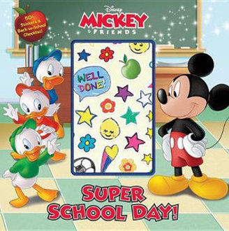 Picture of Disney Mickey Friends Super School Day! 50 stickers and back to school checklist!