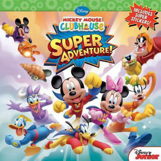 Picture of Mickey Mouse ClubHouse Super Adventure! Includes super Stickers