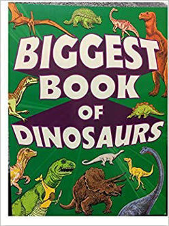 Picture of New Biggest Book of Dinosaurs, 317 pages of pictures, games, facts, puzzles, mazes