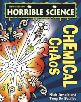 Picture of Horrible Science: Chemical Chaos (paperback)