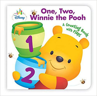 Picture of One,Two,Winnie the Pooh A counting Book with Flaps
