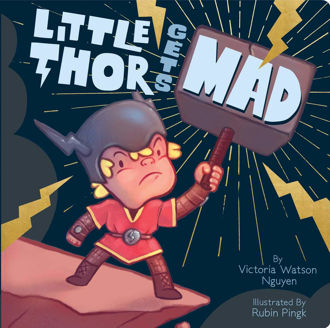 Picture of Little Thor gets Mad