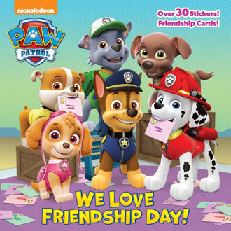 Picture of Paw Patrol We love Friendship Day! Over 30 stickers and cards