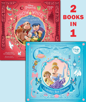 Picture of Fairy tales Friendships Cinderella's Best Creations 2 books in 1!