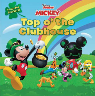 Picture of Junior Mickey Top o' The Clubhouse Includes Sickers