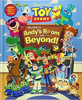 Picture of Toy Story: Welcome to Andy's Room & Beyond! (hardcover)