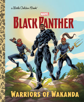 Picture of A Little Golden Book Marvel Black Panther Warriors of Wakanda