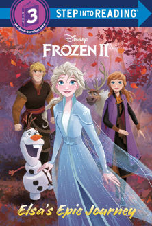 Picture of Elsa's Epic Journey (Disney Frozen 2) (Step into Reading) HARDCOVER
