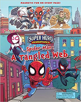Picture of Marvel's Super Hero Adventures Spider-Man: A Tangled Web (Magnetic Hardcover) Hardcover