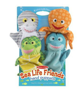 Picture of Sealife Friends Hand Puppets