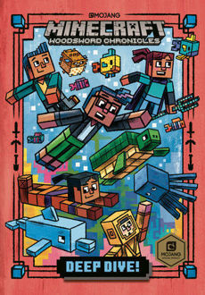 Picture of Deep Dive! (Minecraft Woodsword Chronicles #3) Hardcover