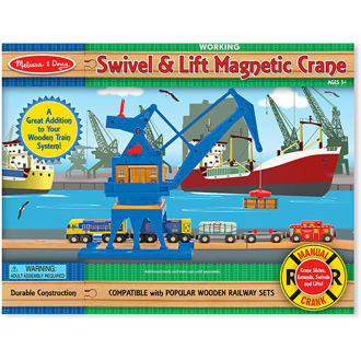 Picture of Swivel & Lift Magnetic Crane