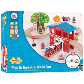 Picture of Fire & Rescue Train Set