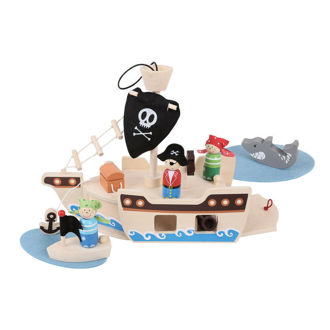 Picture of Mini Pirate Ship Play Set