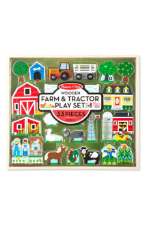 Picture of Wooden Farm & Tractor Play