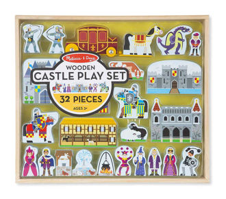 Picture of Wooden Castle Play Set