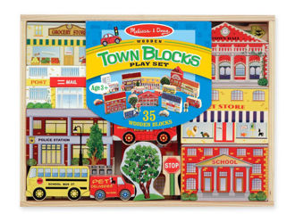 Picture of Town Blocks Play Set