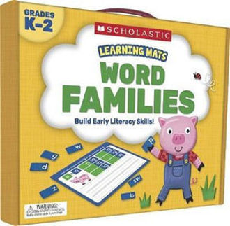 Picture of Learning Mats: Word Families