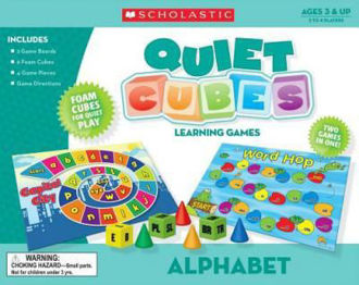 Picture of Quiet Cubes Learning Games Alphabet