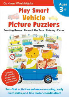 Picture of Play Smart Vehicle Picture Puzzlers 3+