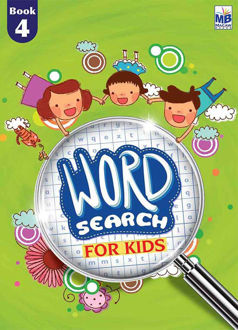 """Picture of """"WORD SEARCH"""" FOR KIDS BOOK - 4"""
