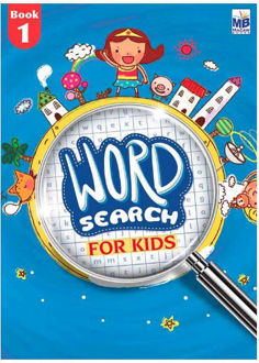 """Picture of """"WORD SEARCH"""" FOR KIDS BOOK - 1"""