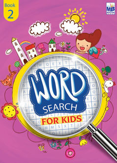 """Picture of """"WORD SEARCH"""" FOR KIDS BOOK - 2"""