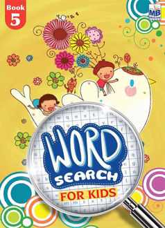 """Picture of """"WORD SEARCH"""" FOR KIDS BOOK - 5"""