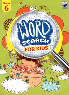 "Picture of ""WORD SEARCH"" FOR KIDS BOOK - 6"