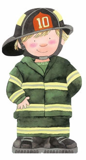 Picture of Little Firefighter Book