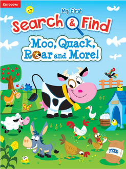 Picture of Search & Find: Moo, Quack, Roar and More!