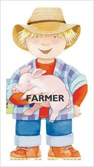 Picture of Farmer (Mini People Shape Books)