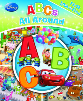 Picture of First Look and Find: Disney Pixar ABCs all around