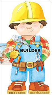 Picture of Builder (Mini People Shape Books)