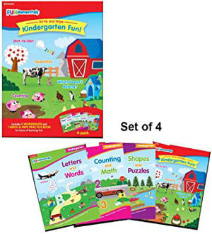 Picture of FUNdamenal write and wipe kindergarten fun