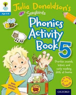 Picture of Julia Donaldson's Songbirds Phonics Activity Book 5