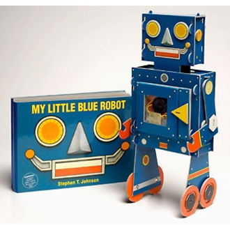 Picture of My Little Blue Robot (Board book)