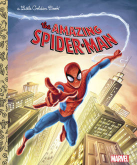 Picture of A Little Golden Book The Amazing Spider-Man Trapped by the Green Goblin ( Marvel)