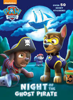 Picture of Paw Patrol Night of the Ghost Pirate Over 50 Shiny Stickers!