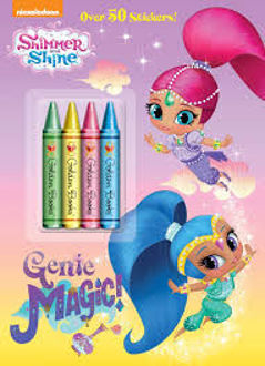 Picture of Shimmer and Shine Genie Magic! Over 50 Stickers!