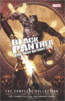 Picture of Marvel Black Panther the Man without Fear! the complete collection