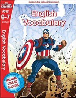 Picture of Captain America: English Vocabulary