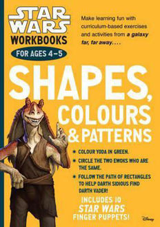 Picture of Star Wars Workbooks: Shapes, Colours & Patterns