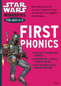 Picture of Star Wars Workbooks: First Phonics