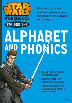 Picture of Star Wars Workbooks: Alphabet and Phonics