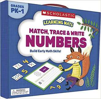 Picture of Learning Mats: Match, Trace & Write Numbers