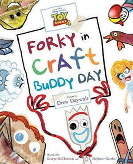 Picture of Toy Story 4 Forky in Craft Buddy Day