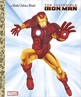 Picture of A Little Golden Book The Invincible Iron Man