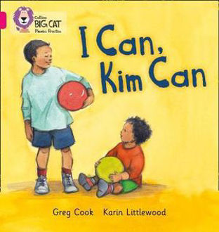 Picture of BIG CAT: I CAN, KIM CAN (Band 01b/Pink B)