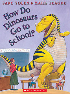 Picture of How Do Dinosaurs Go to School?